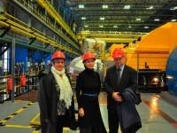 Államtitkári látogatás a Paksi atomerőműben